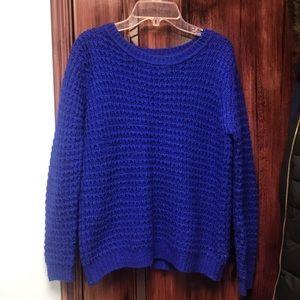 Royal Blue knit sweater